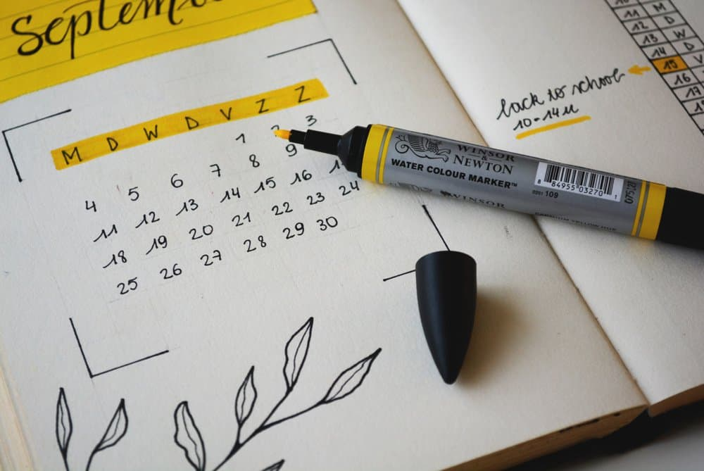 diary management tips - virtalent