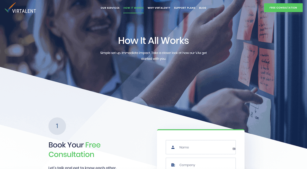 How It Works - new website