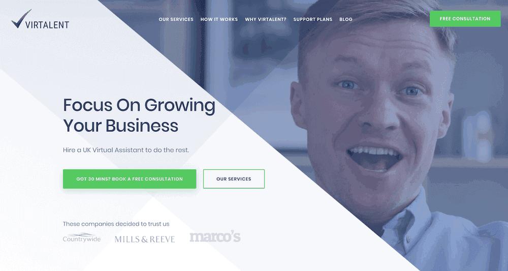 New Virtalent website