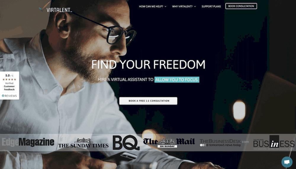Virtalent new website